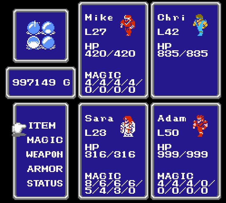tiny final fantasy